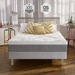 Sleep Innovations Shea 10-inch Memory Foam Mattress with Qui